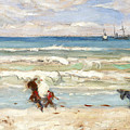 Beach Scene Tangier by James Wilson Morrice