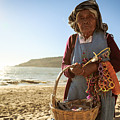 Beach Seller by Patrick Schulte