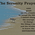 Beach Serenity Prayer by Sandi OReilly