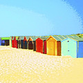 Beach Shacks Down Under by Dominic Piperata