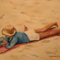 Beach Study by Dyanne Parker