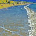 Beach Summer Midday Midweek by Scott L Holtslander