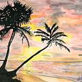Beach Sunrise by Alexis Grone