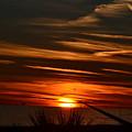 Beach Sunset Alabama by Tim Sevcik