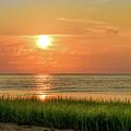 Beach Sunset Glory by Alan Brown
