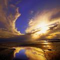 Beach Sunset by Svetlana Sewell