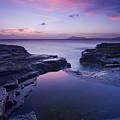 Beach Sunset by Zarija Pavikevik