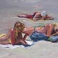 Beach Talk by Elizabeth Taft