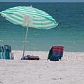 Beach Time Is Near by Florene Welebny
