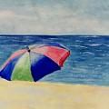 Beach Umbrella by Jamie Frier