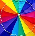 Beach Umbrella Panoramic by David Lee Thompson