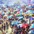 Beach Umbrellas by Phil Perkins