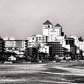 Beach Vacancy In Ocean City In Black And White by Bill Swartwout Fine Art Photography