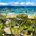Beach Walk by Chris Butler