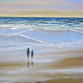 Beach Walk by Frank Wilson