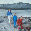 Beach Walk by Georgette Backs