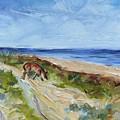 Beach Walk by Maria Reichert