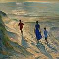 Beach Walk by Timothy Easton