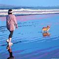 Beach Walk V.4 by Max Yamada