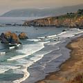 Beach Walkers by Frank Wilson