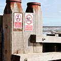 Beach Warning by Tom Gowanlock