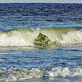 Beach Waves by D Hackett