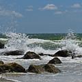 Beach Waves001 by Don Solari