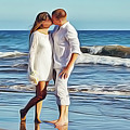 Beach Wedding by Harry Warrick