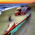 Beached Beauty by Dan Carmichael