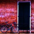 Beached Biker by Jeff Kurtz
