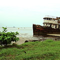 Beached Ship by Brett Winn