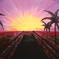 Beachside Sunset by Emily Page