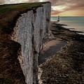 Beachy Head Cliffs by Jaroslaw Blaminsky