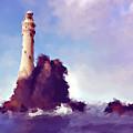 Beacon On The Rock by KaFra Art
