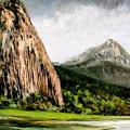Beacon Rock Washington by Jim Gola