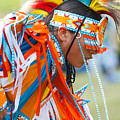 Beaded Pow Wow Dancer by Steven Bateson