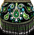 Beadwork And Rhinestones. Belly Dance Fashion by Sofia Metal Queen
