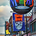 Beale Street Neon by Jerry Fornarotto