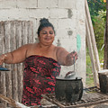 Beans Cooking by Carol Ailles