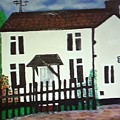 Bear Cottage by Marilyn Impellitier