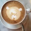 Bear Cup Latte  by Susan Garren
