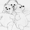 Bear Huddle by Nareeta Martin