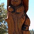 Bear In Wood by LeeAnn McLaneGoetz McLaneGoetzStudioLLCcom