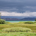 Bear Lake From Us 89 by Mary Lou Stone