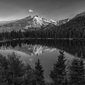 Bear Lake In Black And White by Gary Lengyel