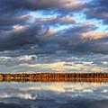 Bear Lake Michigan At Sunrise by Twenty Two North Photography