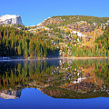 Bear Lake Reflections by Greg Norrell