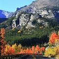Bear Lake Road In Autumn by Dan Sproul