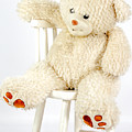 Bear On A Chair by Vanora Naude