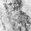 Bearded Man by Durer Albrecht